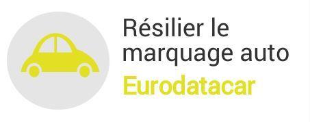 resiliation marquage auto eurodatacar