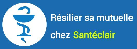 resiliation mutuelle santeclair