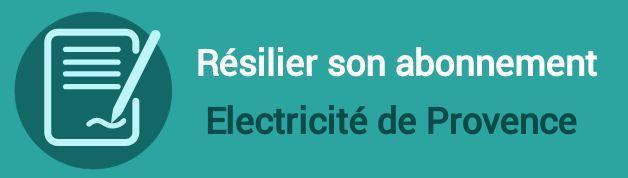 resilier abonnement electricite de provence