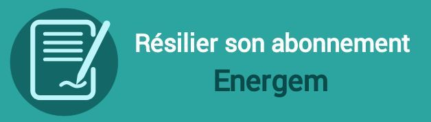 resilier abonnement energem