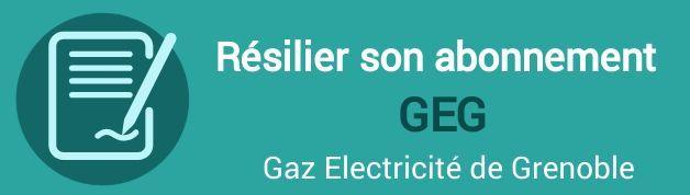 resilier abonnement geg gaz electricite grenoble