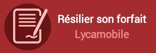 resilier forfait lycamobile