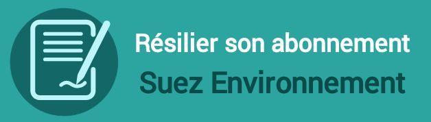 resilier abonnement suez environnement