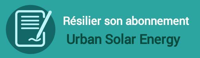 resilier abonnement urban solar energy