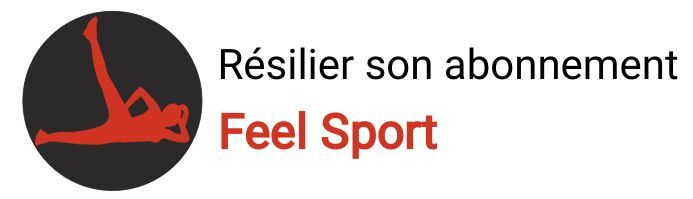 resiliation abonnement feel sport