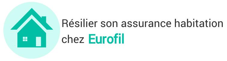 resiliation assurance habitation eurofil