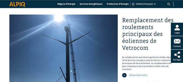 abonnement électricité alpiq