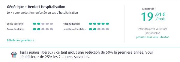 formule générique plus renfort hospitalisation mutuelle macsf