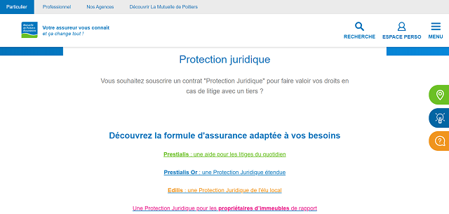 protection juridique mutuelle de poitiers assurances