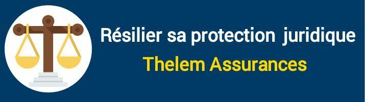 résiliation protection juridique thelem assurances