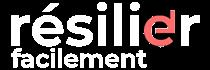 Logo Resilier Facilement White