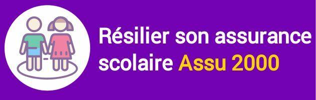 resiliation assurance scolaire assu 2000